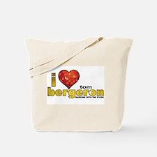 I Heart Tom Bergeron Tote Bag