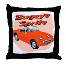 Bugeye Sprite Throw Pillow