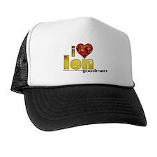 I Heart Len Goodman Trucker Hat