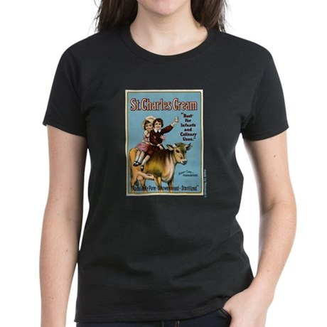 St. Charles Cream Women's Dark T-Shirt