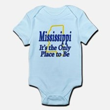 Only Place To Be - Mississippi Infant Bodysuit