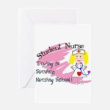 Nursing Student Greeting Card