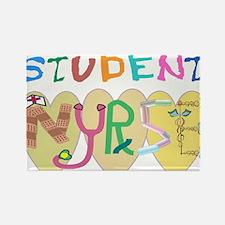 Nursing Student Rectangle Magnet (10 pack)