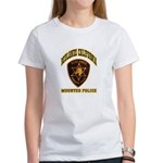 Redlands Mounted Police Women's T-Shirt