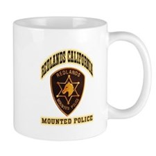 Redlands Mounted Police Mug