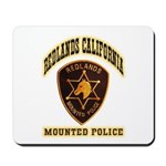 Redlands Mounted Police Mousepad