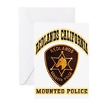Redlands Mounted Police Greeting Cards (Pk of 20)