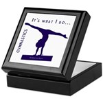 Gymnastics Keepsake Box - Do