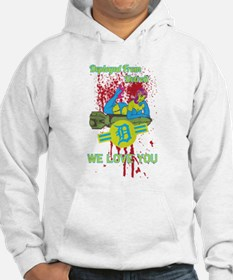 Dead girls don't say no Hoodie