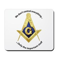 Masonic Blue Lodge Mouse Pad