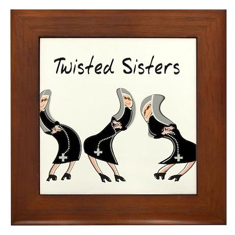Nuns Jubilee Framed Tile