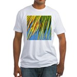PALM FRONDS Fitted T-Shirt