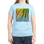 PALM FRONDS Women's Pink T-Shirt