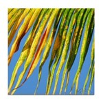 PALM FRONDS Tile Coaster