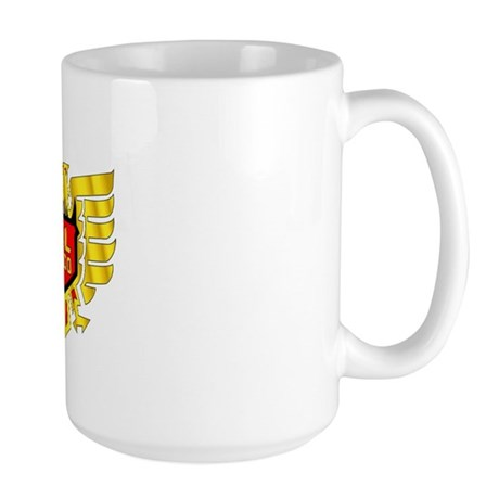 GL12 Gold Eagle Large Mug
