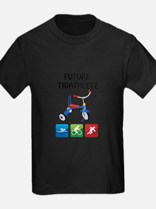 2-future_triathlete_tricycle T-Shirt