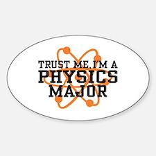 Physics Major Sticker (Oval)