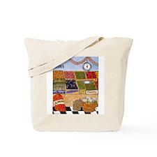 Vegetable Market Tote Bag