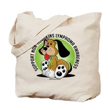 Non-Hodgkins Lymphoma Dog Tote Bag