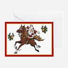 Happy Santa Greeting Card