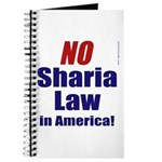 NO Sharia Law in America Journal