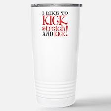 I Like to KICK! Thermos Mug