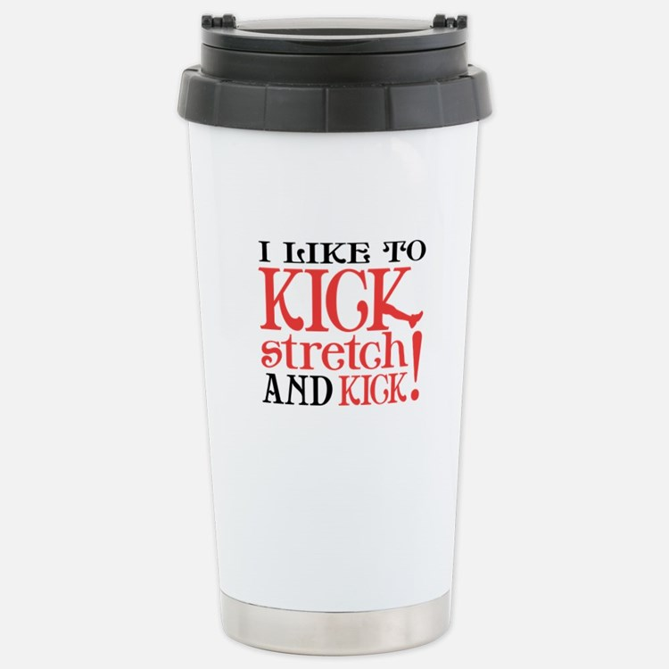 I Like to KICK! Travel Mug