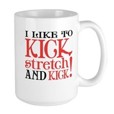 I Like to KICK! Ceramic Mugs