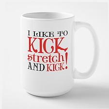 I Like to KICK! Coffee Mug