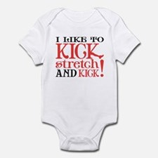 I Like to KICK! Infant Bodysuit