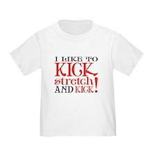 I Like to KICK! T