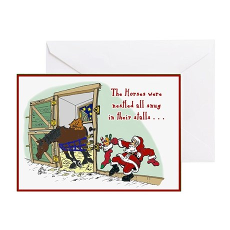 Night Before Greeting Card