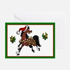 Jingle Bell Horse Greeting Cards (Pk of 20)