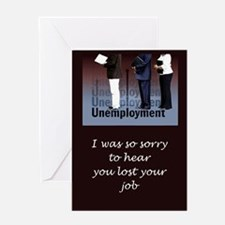 Unemployed Greeting Card
