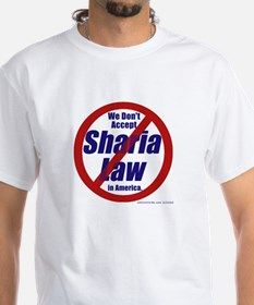 NO Sharia Law in America Shirt