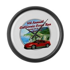 4th Annual California Coast R Large Wall Clock
