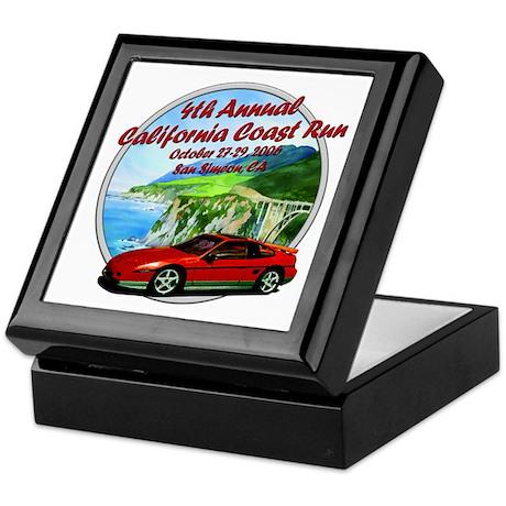 4th Annual California Coast R Keepsake Box