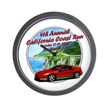 4th Annual California Coast R Wall Clock