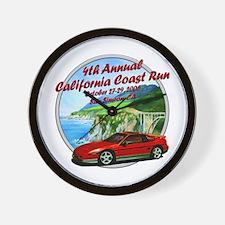 4th Annual California Coast R Wall Clock