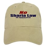 NO Sharia Law in America Cap