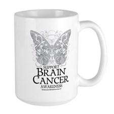 Brain Cancer Butterfly Mug