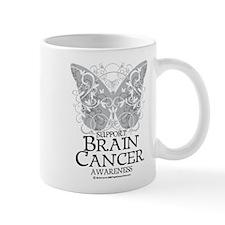 Brain Cancer Butterfly Mug