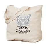 Brain tumor Canvas Totes