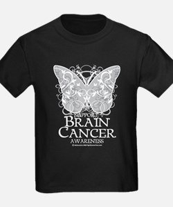 Brain Cancer Butterfly T