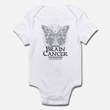 Brain Cancer Butterfly Infant Bodysuit