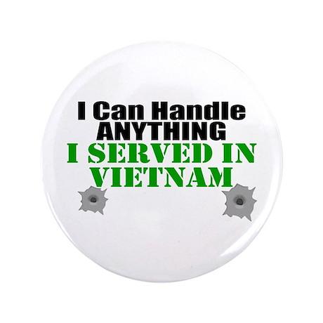 """Served in Vietnam 3.5"""" Button"""
