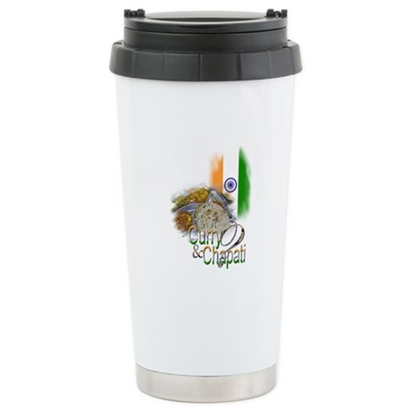 Got Curry & Chapati? - Stainless Steel Travel Mug