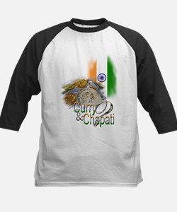 Got Curry & Chapati? - Kids Baseball Jersey
