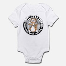Brain Cancer Fighter Cat Infant Bodysuit