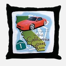 3rd Annual California Coast R Throw Pillow